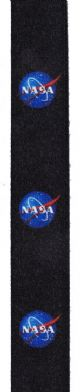 NASA Logo Lanyard - Black